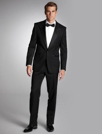Black-Dinner-Jacket-Peaked-Lapel-Mens-Tuxedos-Cheap-Mens-Tuxedos-font-b-Grooms-b-font-font