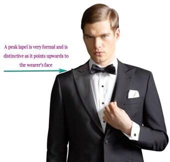 peak lapel