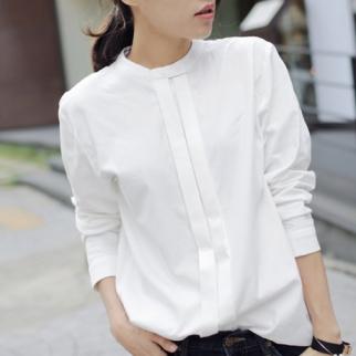 2016-Spring-New-Women-Shirts-Blouses-Korean-Blusas-Plus-Size-S-XXL-Ladies-OL-Cotton-Long
