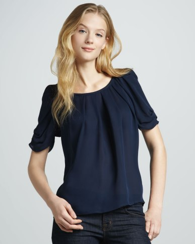 joie-dark-navy-eleanor-gathered-silk-blouse-product-1-5121190-394101032