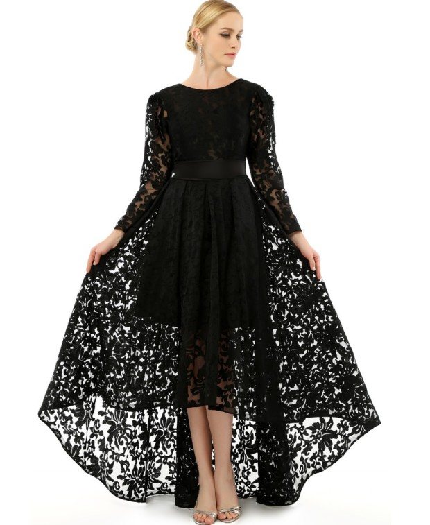 popular-plus-size-black-lace-dress-new-on-casual-dresses-ideas